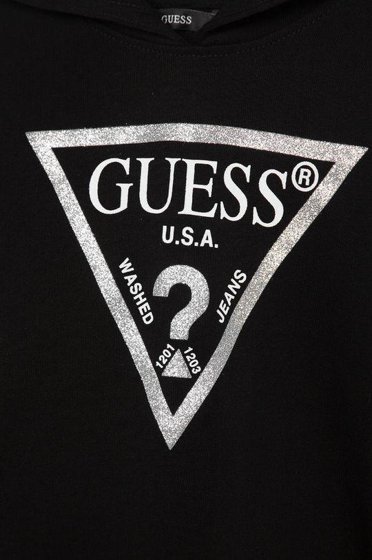 Guess Jeans - Detská mikina 118-175 cm  Základná látka: 100% Bavlna Elastická manžeta: 95% Bavlna, 5% Elastan