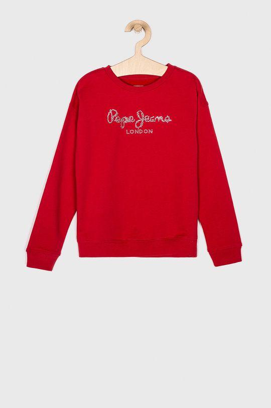 červená Pepe Jeans - Dětská mikina Dívčí