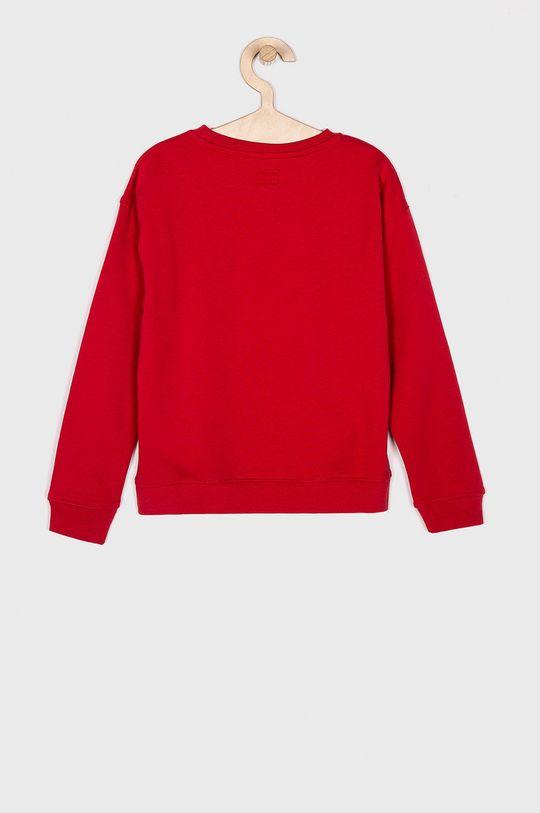 Pepe Jeans - Dětská mikina červená