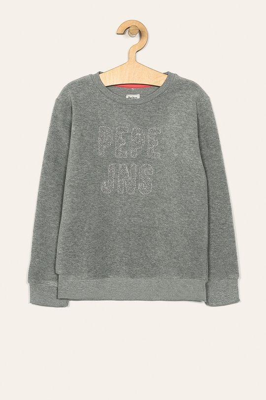 šedá Pepe Jeans - Dětská mikina 128-180 cm Dívčí