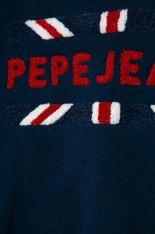 Pepe Jeans - Detská mikina Nicky 128-180 cm  Základná látka: 60% Bavlna, 40% Polyester Iné látky: 100% Bavlna Úprava : 95% Bavlna, 5% Elastan