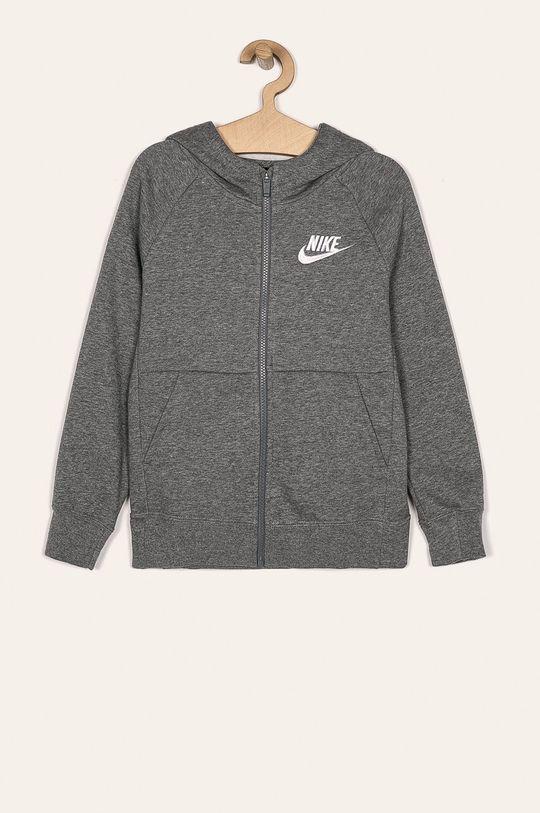 světle šedá Nike Kids - Dětská mikina 122-166 cm Dívčí