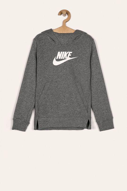svetlosivá Nike Kids - Detská mikina 122-166 cm Dievčenský