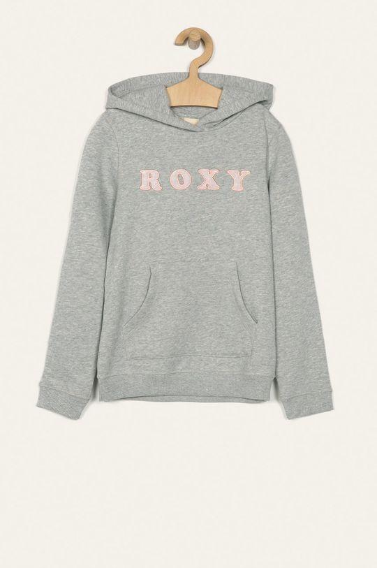 svetlosivá Roxy - Detská mikina 140-176 cm Dievčenský