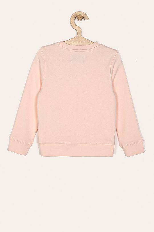 Calvin Klein Jeans - Detská mikina 104-176 cm pastelová ružová