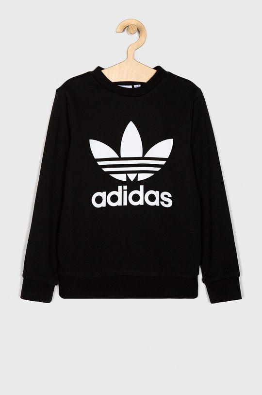 czarny adidas Originals - Bluza dziecięca 128-164 cm Dziecięcy