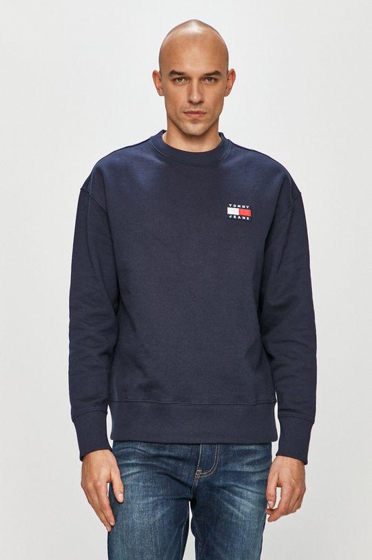 granatowy Tommy Jeans - Bluza DM0DM06592 Męski