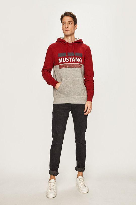 Mustang - Mikina gaštanová