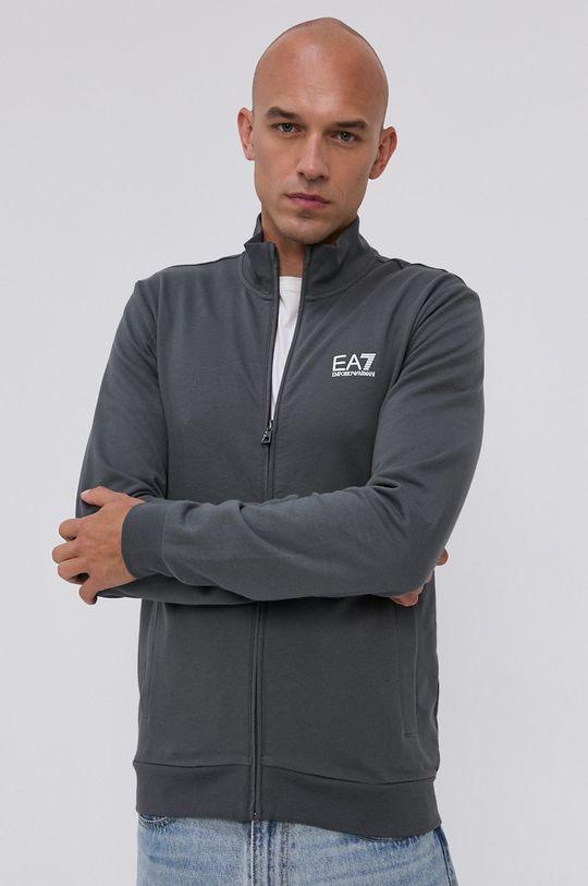EA7 Emporio Armani - Bluza PJ05Z.8NPM01 szary