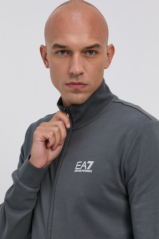 szary EA7 Emporio Armani - Bluza PJ05Z.8NPM01