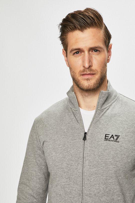 szary EA7 Emporio Armani - Bluza