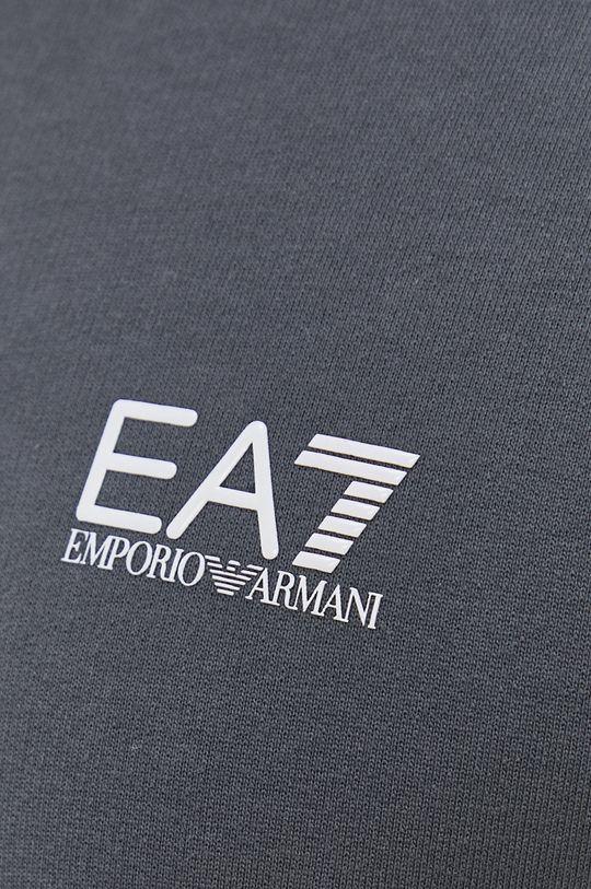 šedá EA7 Emporio Armani - Mikina