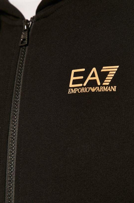černá EA7 Emporio Armani - Mikina