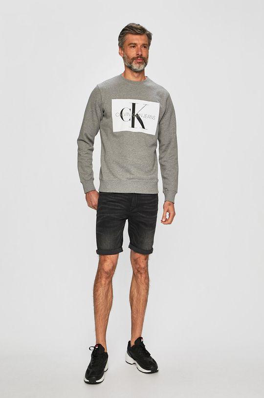Calvin Klein Jeans - Mikina šedá