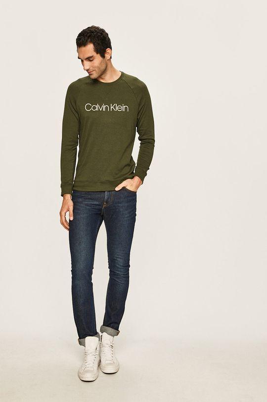 Calvin Klein Underwear - Mikina olivová