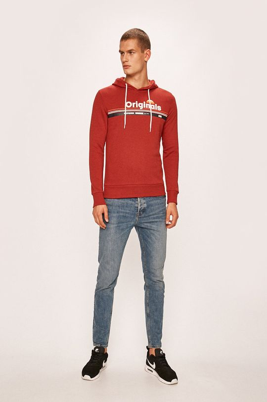 Jack & Jones - Bluza rosu