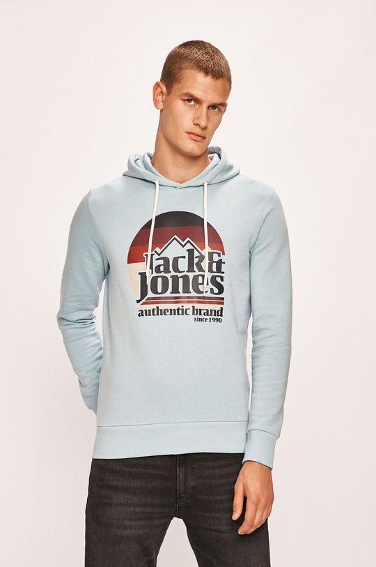 světle modrá Jack & Jones - Mikina Pánský