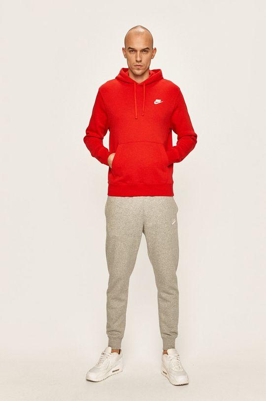 Nike Sportswear - Mikina červená
