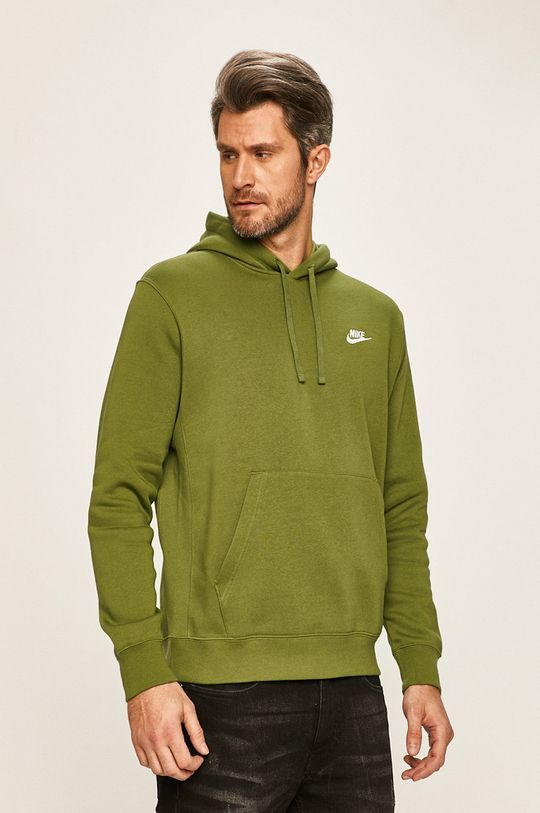 zelená Nike Sportswear - Mikina Pánský