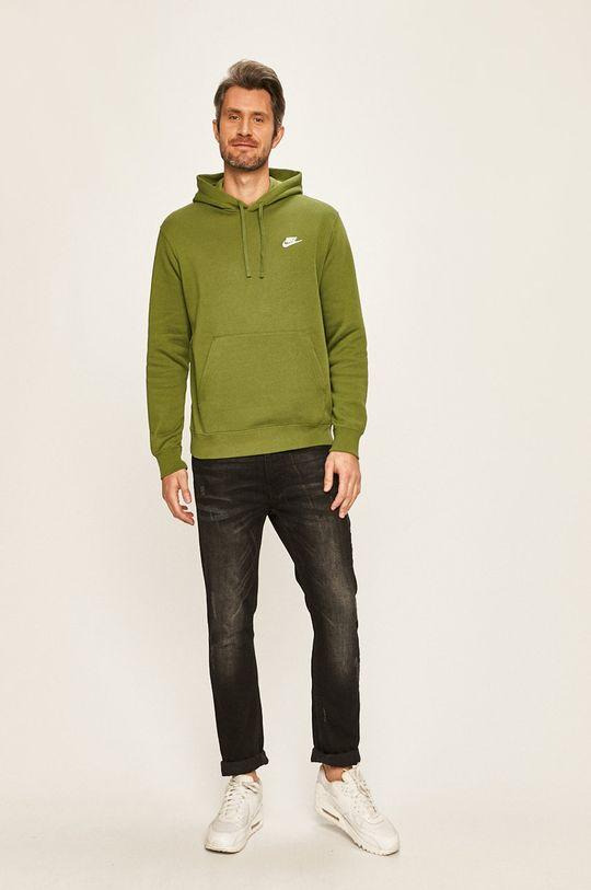 Nike Sportswear - Mikina zelená