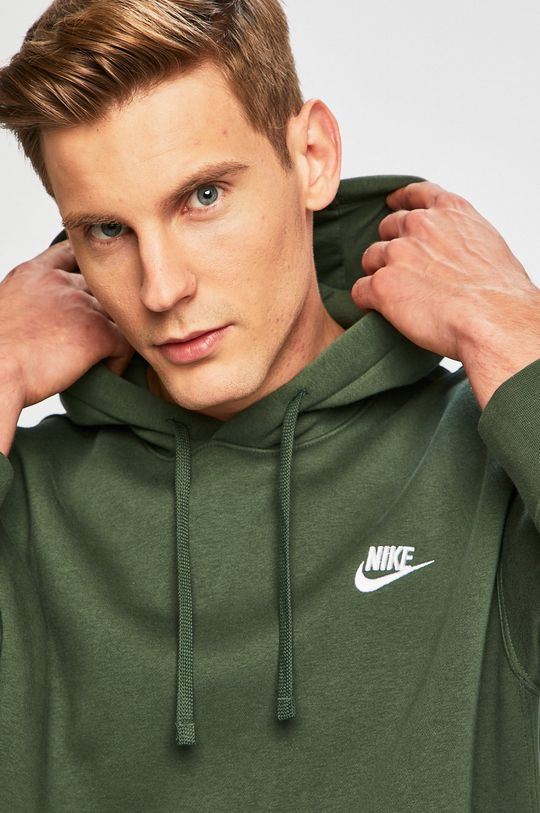 ocelová zelená Nike Sportswear - Mikina