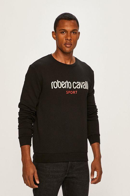 Roberto Cavalli Sport - Mikina čierna