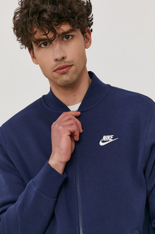 granatowy Nike Sportswear - Bluza Męski
