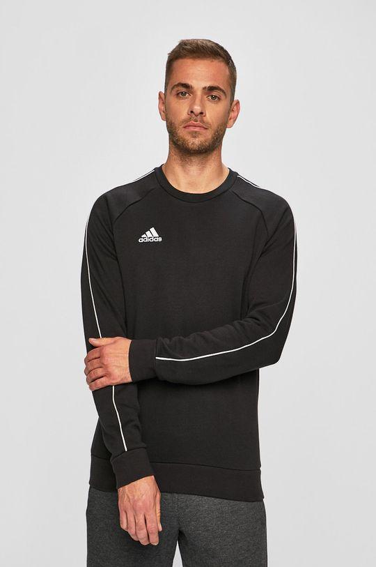 czarny adidas Performance - Bluza Męski