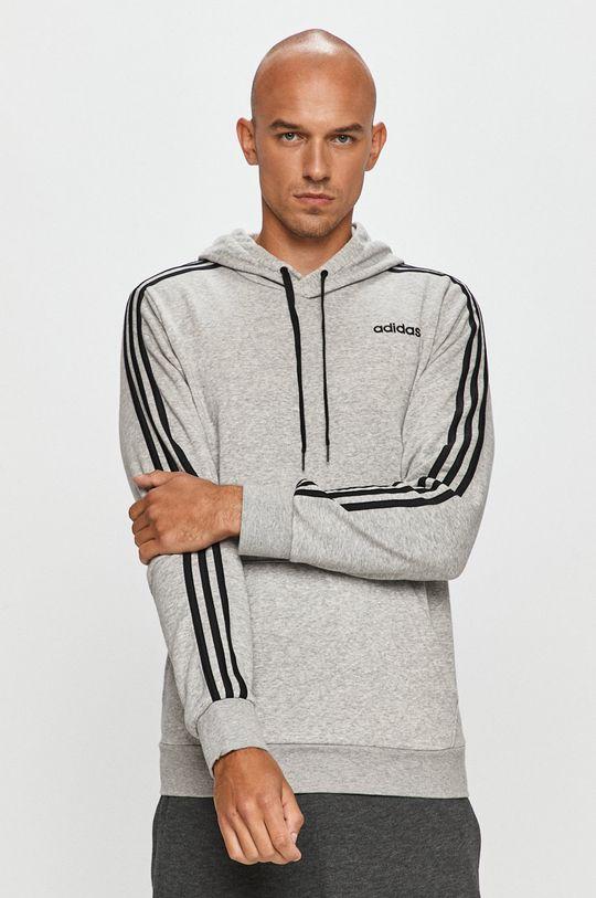 gri deschis adidas Performance - Bluza De bărbați