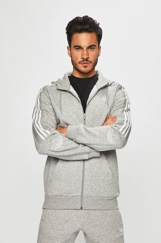 szürke adidas Originals - Felső Férfi
