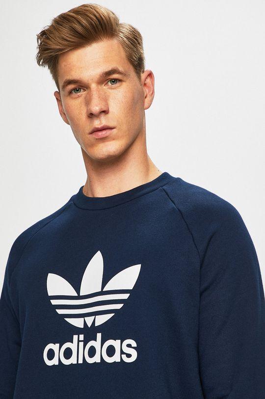 tmavomodrá adidas Originals - Mikina Pánsky