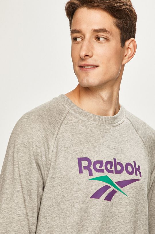 sivá Reebok Classic - Mikina