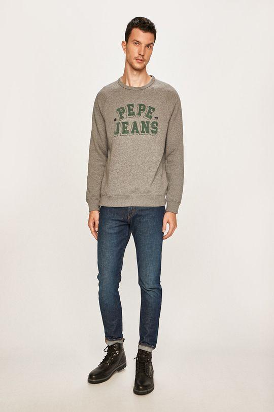 Pepe Jeans - Bluza Linus szary