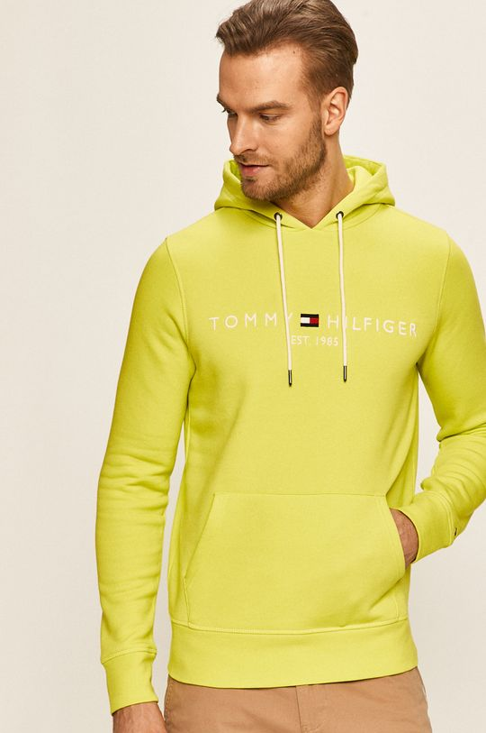 galben – verde Tommy Hilfiger - Bluza MW0MW11599 De bărbați