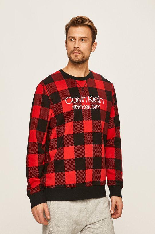 červená Calvin Klein Underwear - Pyžamová mikina Pánský