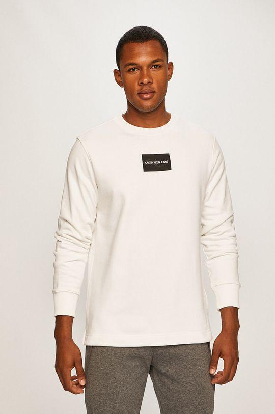 alb Calvin Klein Jeans - Bluza De bărbați