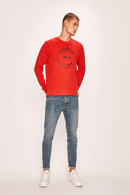 Calvin Klein - Mikina červená
