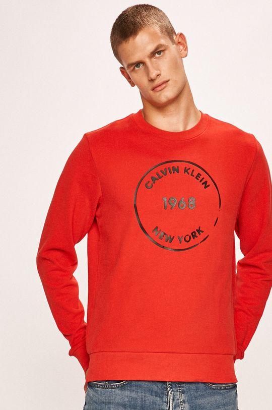 červená Calvin Klein - Mikina
