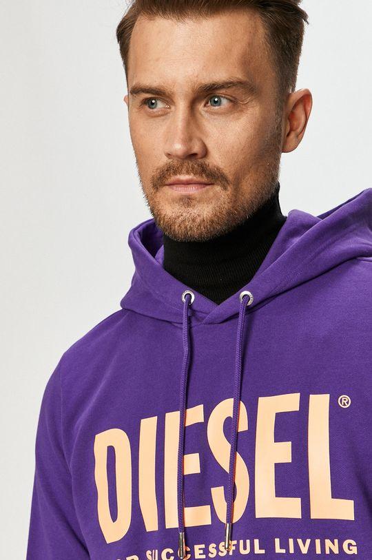 fialová Diesel - Mikina