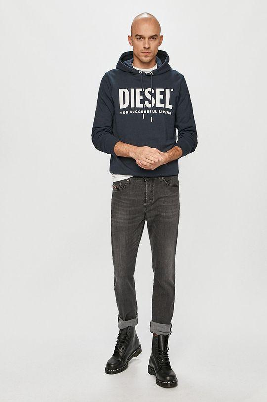Diesel - Mikina tmavomodrá