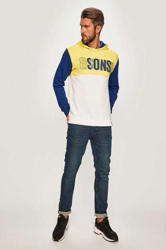 Only & Sons - Mikina žlutá