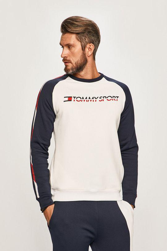 biela Tommy Sport - Mikina Pánsky