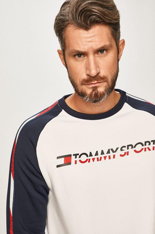 biela Tommy Sport - Mikina