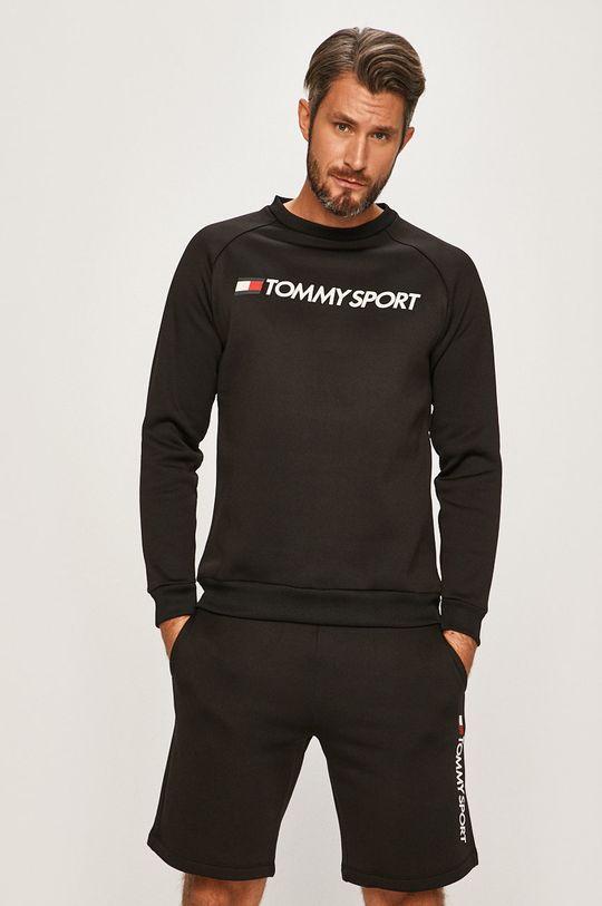 negru Tommy Sport - Bluza De bărbați