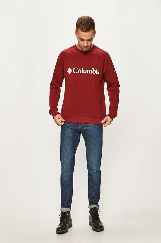 Columbia - Bluza rosu