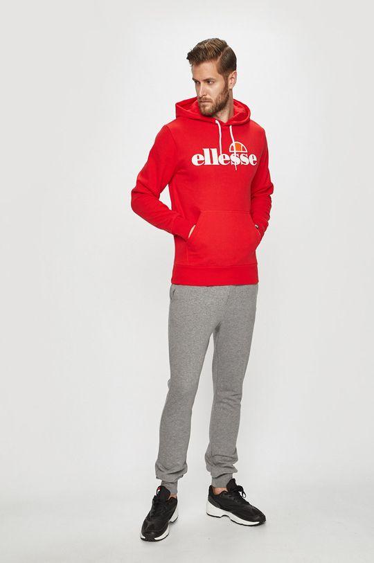 Ellesse - Bluza czerwony