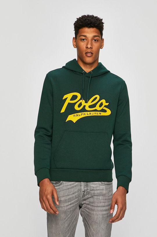 zelená Polo Ralph Lauren - Mikina Pánský