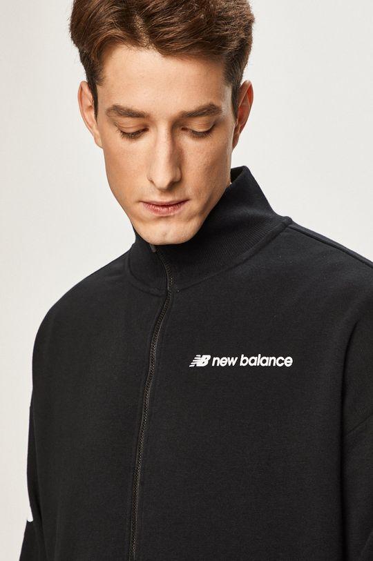 czarny New Balance - Bluza