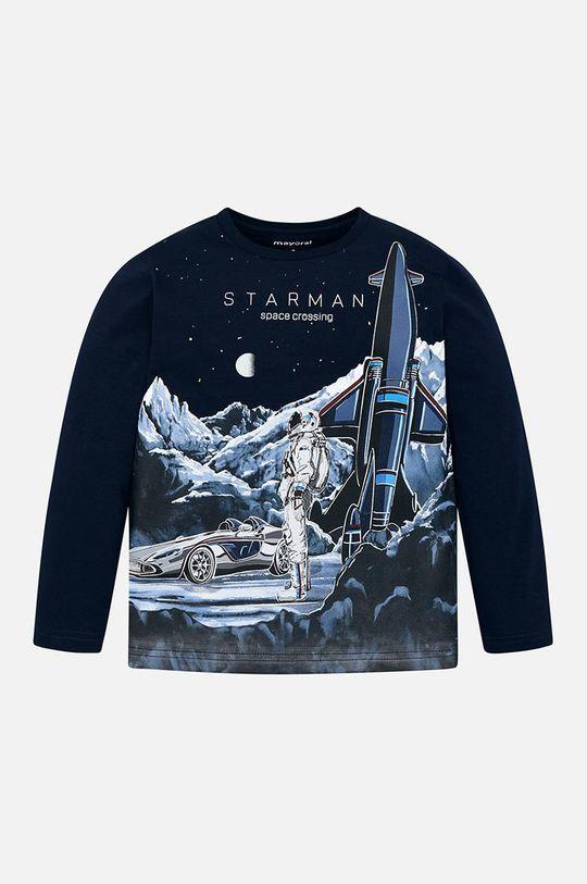 tmavomodrá Mayoral - Detské tričko s dlhým rukávom 92-134 cm Chlapčenský