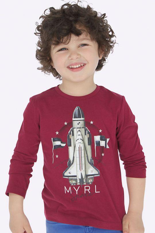 gaštanová Mayoral - Detské tričko s dlhým rukávom 92 - 134 cm Chlapčenský
